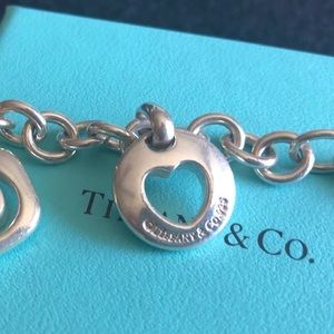 Tiffany & Co. Jewelry - Authentic Tiffany & Co charm bracelet